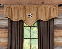 Western Living Room Curtains Western Curtains And Window Treatment Lone Star Western Daccor