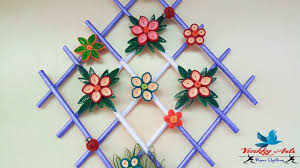 Room Decorating With Paper Diy Paper Quilling Wall Hangers For Room Decoration Paper
