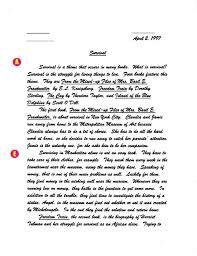 Response To Literature Essay Format Response To Literature Essay