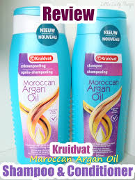Review Kruidvat Maroccan Argan Oil Shampoo Conditioner