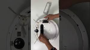 Tháo lắp chổi chính robot hút bụi S6 của hãng Qihoo 360 - YouTube