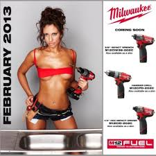 calender tools the milwaukee tool calendar