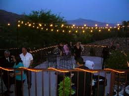 outdoor backyard lighting ideas. backyard overhead lighting outdoor ideas