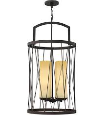 fredrick ramond fr41624orb nest 4 light 21 inch oil rubbed bronze foyer ceiling light in distressed amber etched single tier