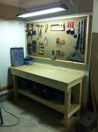 workbench lighting ideas. More Ideas Below: Workout Diy Pegboard Hooks Hacks Tools Storage Painted Craft Room Display Backsplash Tool Holder Office Workbench Lighting A