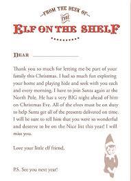 elf letter