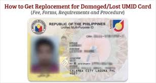 Ids Umid Replacement lost - Philippine For Get Sss Damaged Card To How