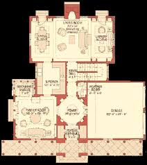 Dream HouseAn alternate first floor plan  above  that allows for a large family room calls for a pass through kitchen  one resembling the kitchen in Graves    s own home