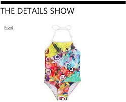 Hot Kawaii Watermelon Children Swimwear Printing Summer Swimming ...