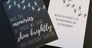 holiday grief card fb