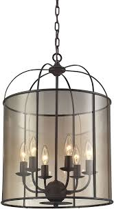 elk 31398 6 fenton oil rubbed bronze foyer light fixture loading zoom