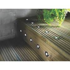 outdoor led deck lights. apollo led deck light kit polished stainless steel white 0.05w 10 pack outdoor led lights
