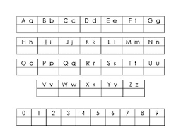 Writing Practice Worksheet Letter And Number Writing Practice Worksheet By Esl And