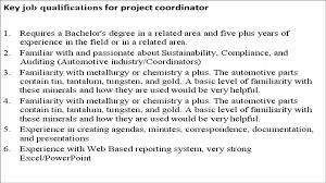 Cover Letter Academic Coordinator Jobs Academic Coordinator Jobs