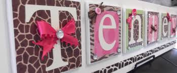 Small Picture Baby Name Wall Art Ideas TakuiceCom