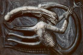 alien guest essay looking back in horror to hero complex  this painting necronom iv 1976 convinced director ridley scott to hire swiss
