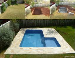 Use Cinder Blocks for Building Your Own Swimming Pool