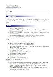 Sap Sd Resumes Fresher Resume Format Fresh Sample For Freshers