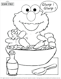 Sesame Street Sign Coloring Page Street Sign Coloring Pages Horn