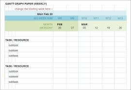 Gantt Chart Template 9 Free Sample Example Format