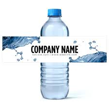 waterbottle labels custom water bottle labels water business water labels