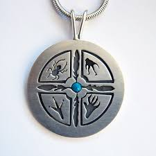 anishinaabe zhooniyaa mashkiki waawiyeyaatig ojibwe silver medicine wheel