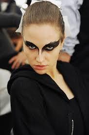 black angel makeup
