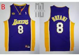 Kobe Sportswear Size Chart Kobe Bryant 8 W Signature Swingman Basketball Jersey