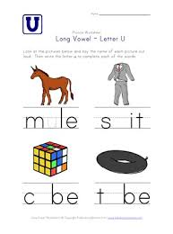 For phonics beginners, long vowel sounds and short vowel sounds are very confusing. Long Vowel U Worksheet All Kids Network