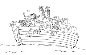 Small Picture Beautiful Noahs Ark Coloring Page Contemporary New Printable