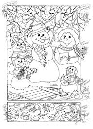 Small Picture Hidden Pictures Publishing Snowman Hidden Picture Puzzle for