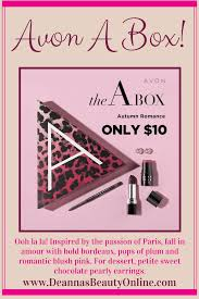 cur avon s get the avon a box for just 10 with your purchase of