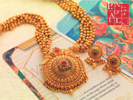 Temple Jewellery Gold Necklace Designs Temple Jewellery Classics P N Gadgil Sons