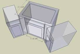 Standard Base Cabinet Dimensions Standard Depth Of Kitchen Cabinets Box Dimensions Height Width