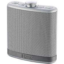 speakers stereo. ihome(r) ibt12sc rechargeable flask-shaped bluetooth(r) stereo speaker with custom sound case (silver) - walmart.com speakers \