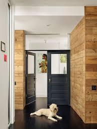 master suite with antique black doors
