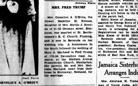 all the evidence we could about fred trump s alleged  clipping from the long island daily press 22 1936
