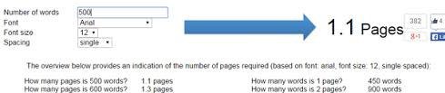 how many pages is words quora it will be 1 3 pages for the same size and spacing