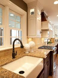C This Kitchen Has The Granite Backsplash As Well Tile Donu0027t Do This  Always Opt For No So You Can Tile Right Down Countertop