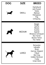 Big Dog Size Chart Big Dog Breed Chart 2019