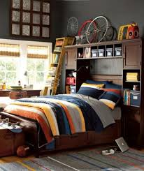 Headboards could be used not only for additional storage but to display  things too.