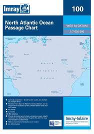 Imray Charts Caribbean Imray 100 North Atlantic Passage Chart