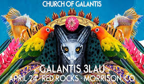 Red Rock Ballroom Seating Chart Galantis And 3lau Tickets In Morrison At Red Rocks