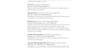 Resume Template Examples Examples Of Graphic Design Resumes Photographer Resume Sample From ...