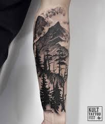 Half Sleeve Tattoo Idea лес Ideias De Tatuagens Tatuagens De