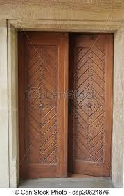 open old door csp20624876