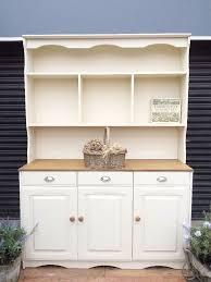 White Kitchen Dresser Unit Oak Dresser Kitchen Unit Welsh Dresser Sideboard Shabby Chic