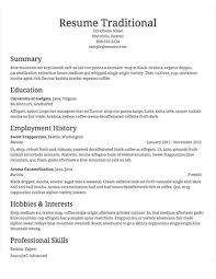 Example Of A Resume Template Filename Joele Barb