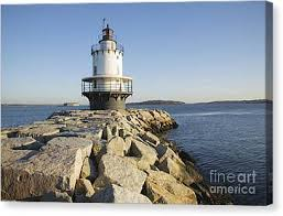 Thomas Point Lighthouse Canvas Prints Fine Art America