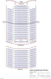 Moore Theater Seattle Seating Chart Lydia Mendelssohn Theatre U M School Of Music Theatre Dance